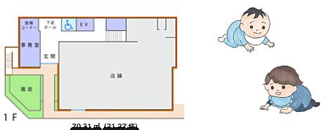 1F 70.31㎡(21.27坪)